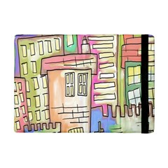 A Village Drawn In A Doodle Style Ipad Mini 2 Flip Cases by BangZart