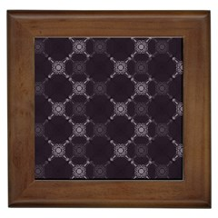 Abstract Seamless Pattern Background Framed Tiles by BangZart