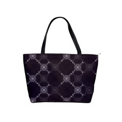 Abstract Seamless Pattern Background Shoulder Handbags by BangZart