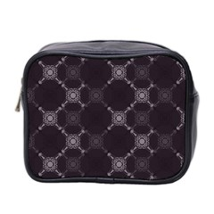 Abstract Seamless Pattern Background Mini Toiletries Bag 2 Side by BangZart