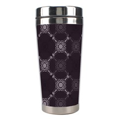 Abstract Seamless Pattern Background Stainless Steel Travel Tumblers by BangZart
