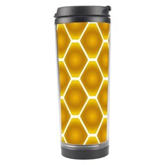 Snake Abstract Pattern Travel Tumbler by BangZart