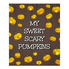 Hallowen My Sweet Scary Pumkins Shower Curtain 60  X 72  (medium)  by BangZart