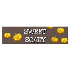 Hallowen My Sweet Scary Pumkins Satin Scarf (oblong) by BangZart