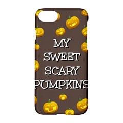 Hallowen My Sweet Scary Pumkins Apple Iphone 7 Hardshell Case by BangZart
