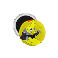 Funny Cartoon Punk Banana Illustration 1 75  Magnets