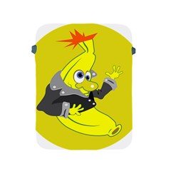 Funny Cartoon Punk Banana Illustration Apple Ipad 2/3/4 Protective Soft Cases by BangZart