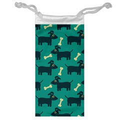 Happy Dogs Animals Pattern Jewelry Bag