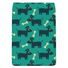 Happy Dogs Animals Pattern Flap Covers (s)  by BangZart