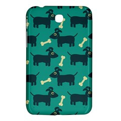 Happy Dogs Animals Pattern Samsung Galaxy Tab 3 (7 ) P3200 Hardshell Case  by BangZart