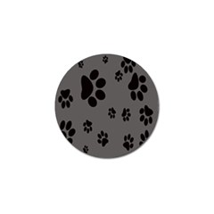 Dog Foodprint Paw Prints Seamless Background And Pattern Golf Ball Marker (4 Pack) by BangZart