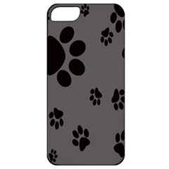Dog Foodprint Paw Prints Seamless Background And Pattern Apple Iphone 5 Classic Hardshell Case by BangZart