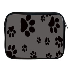 Dog Foodprint Paw Prints Seamless Background And Pattern Apple Ipad 2/3/4 Zipper Cases by BangZart