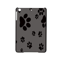 Dog Foodprint Paw Prints Seamless Background And Pattern Ipad Mini 2 Hardshell Cases