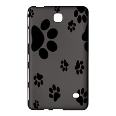 Dog Foodprint Paw Prints Seamless Background And Pattern Samsung Galaxy Tab 4 (8 ) Hardshell Case  by BangZart