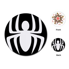 White Spider Playing Cards (round)  by BangZart