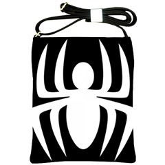 White Spider Shoulder Sling Bags