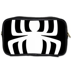White Spider Toiletries Bags 2 Side by BangZart