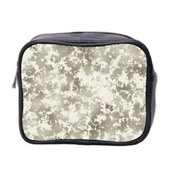 Wall Rock Pattern Structure Dirty Mini Toiletries Bag 2 Side