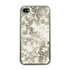 Wall Rock Pattern Structure Dirty Apple Iphone 4 Case (clear) by BangZart