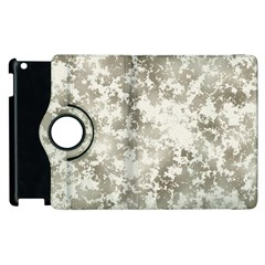 Wall Rock Pattern Structure Dirty Apple Ipad 3/4 Flip 360 Case by BangZart