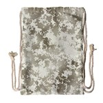 Wall Rock Pattern Structure Dirty Drawstring Bag (Large) Front