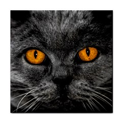 Cat Eyes Background Image Hypnosis Face Towel by BangZart