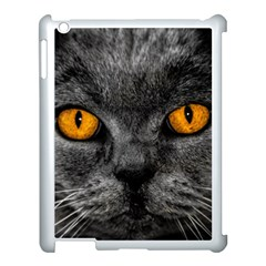 Cat Eyes Background Image Hypnosis Apple Ipad 3/4 Case (white) by BangZart