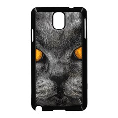 Cat Eyes Background Image Hypnosis Samsung Galaxy Note 3 Neo Hardshell Case (black) by BangZart