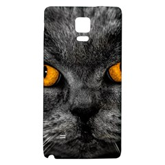Cat Eyes Background Image Hypnosis Galaxy Note 4 Back Case by BangZart