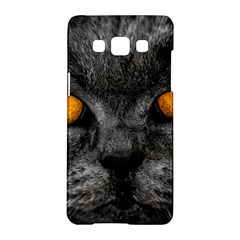 Cat Eyes Background Image Hypnosis Samsung Galaxy A5 Hardshell Case  by BangZart
