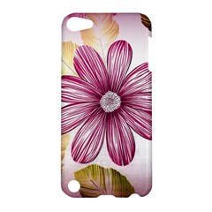 Flower Print Fabric Pattern Texture Apple Ipod Touch 5 Hardshell Case
