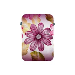 Flower Print Fabric Pattern Texture Apple Ipad Mini Protective Soft Cases by BangZart