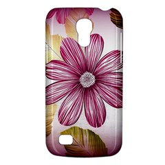 Flower Print Fabric Pattern Texture Galaxy S4 Mini by BangZart