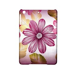 Flower Print Fabric Pattern Texture Ipad Mini 2 Hardshell Cases