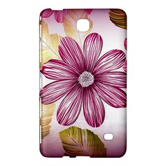Flower Print Fabric Pattern Texture Samsung Galaxy Tab 4 (8 ) Hardshell Case  by BangZart