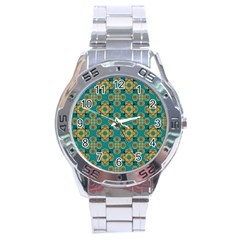 Vintage Pattern Unique Elegant Stainless Steel Analogue Watch by BangZart