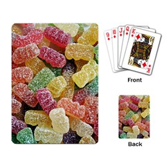 Jelly Beans Candy Sour Sweet Playing Card by BangZart