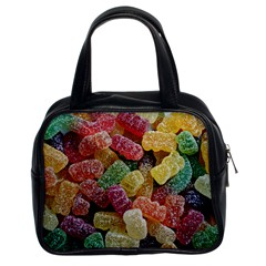 Jelly Beans Candy Sour Sweet Classic Handbags (2 Sides) by BangZart