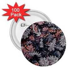 Leaf Leaves Autumn Fall Brown 2 25  Buttons (100 Pack)  by BangZart