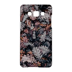Leaf Leaves Autumn Fall Brown Samsung Galaxy A5 Hardshell Case  by BangZart