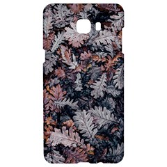 Leaf Leaves Autumn Fall Brown Samsung C9 Pro Hardshell Case  by BangZart