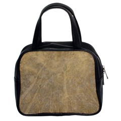 Abstract Forest Trees Age Aging Classic Handbags (2 Sides) by BangZart