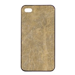 Abstract Forest Trees Age Aging Apple Iphone 4/4s Seamless Case (black) by BangZart