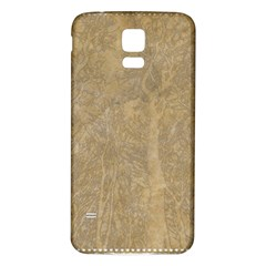 Abstract Forest Trees Age Aging Samsung Galaxy S5 Back Case (white) by BangZart
