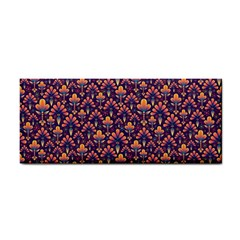 Abstract Background Floral Pattern Cosmetic Storage Cases by BangZart