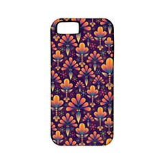 Abstract Background Floral Pattern Apple Iphone 5 Classic Hardshell Case (pc+silicone) by BangZart