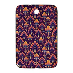 Abstract Background Floral Pattern Samsung Galaxy Note 8 0 N5100 Hardshell Case  by BangZart