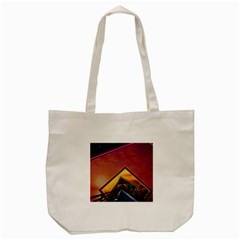 The Rainbow Bridge Of A Thousand Fractal Colors Tote Bag (cream) by jayaprime
