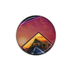 The Rainbow Bridge Of A Thousand Fractal Colors Hat Clip Ball Marker (10 Pack) by jayaprime